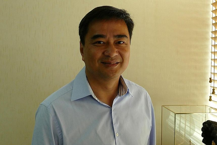 Former Thailand prime minister Abhisit Vejjajiva is seeking another term as leader of the Democrat Party in its closely-watched internal polls in December. He has held the post since 2005.