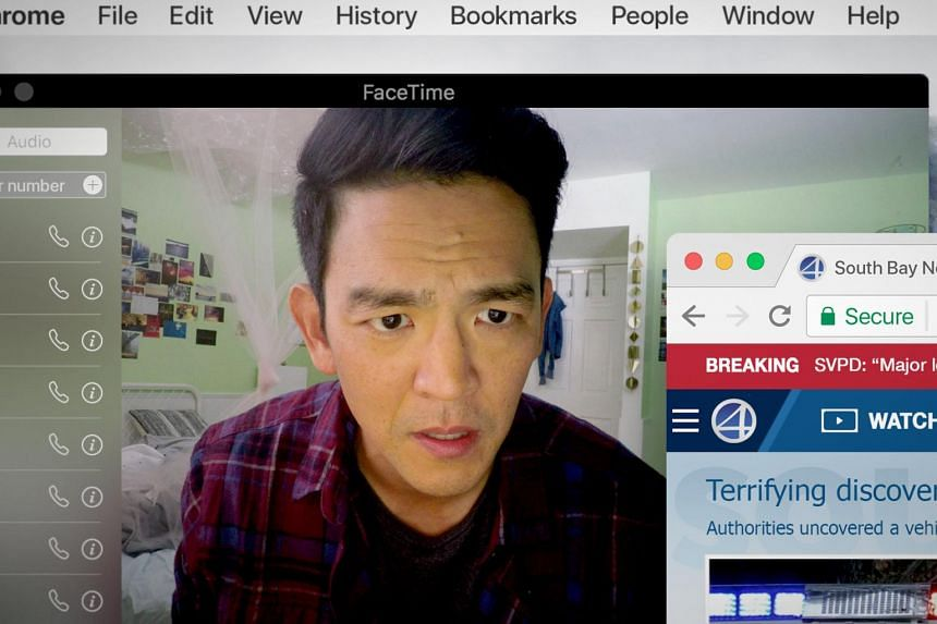 John Cho is billed as the first Asian-American actor to headline a mainstream Hollywood thriller.