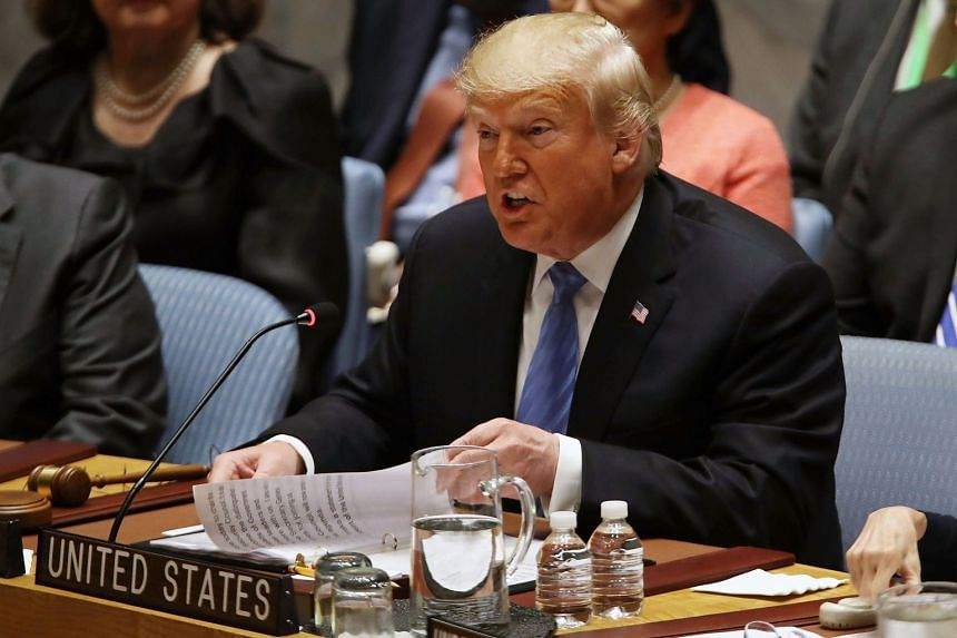 Iran's aggression has only increased in the years since a 2015 nuclear accord was signed, US President Donald Trump said in a speech at the United Nations Security Council.