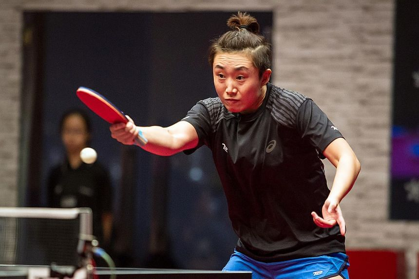 Feng Tianwei, ranked 11th in the world, was Singapore's only representative in the 2017 competition.