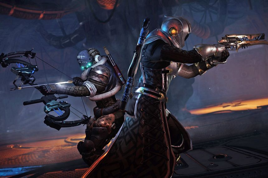 In Destiny 2: Forsaken, players assume the role of a gun-toting, space-magic wielding Guardian, who is seeking revenge for the death of friend and mentor Cayde-6.
