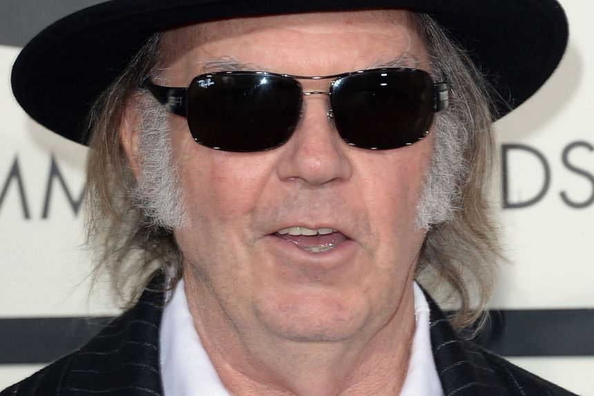 Singer Neil Young.