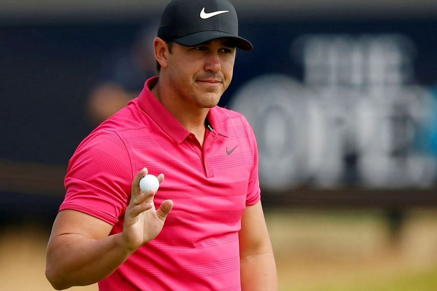Brooks Koepka during the third round of the 147th Open Championship.