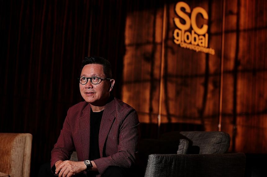 """SC Global Developments' Simon Cheong says projects under its Petit Collectibles brand will cater to """"those looking for a lighter lifestyle""""."""