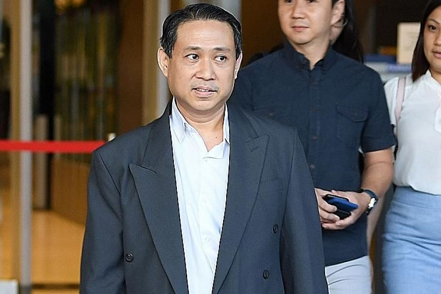 Mr Henry Arianto, IHiS deputy director of product management and delivery in the clinical care department, leaving the High Court yesterday. The SingHealth cyber attack was discovered and halted on July 4, but it was only after Mr Arianto ran some te