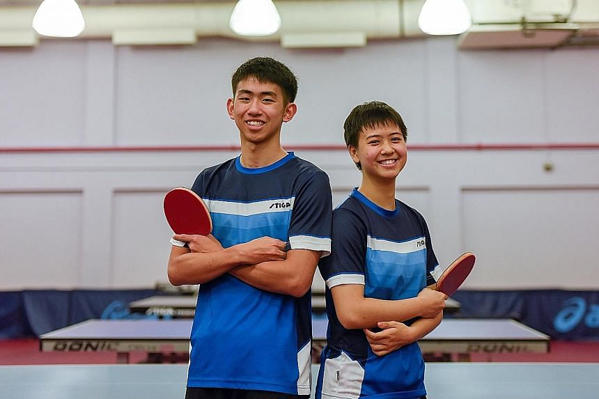 Singapore table tennis players Koen Pang and Goi Rui Xian are hoping they can clinch a medal at the Oct 6-18 Youth Olympic Games in Buenos Aires, Argentina. The Republic's only YOG medal in the sport came during the inaugural edition of the Games in