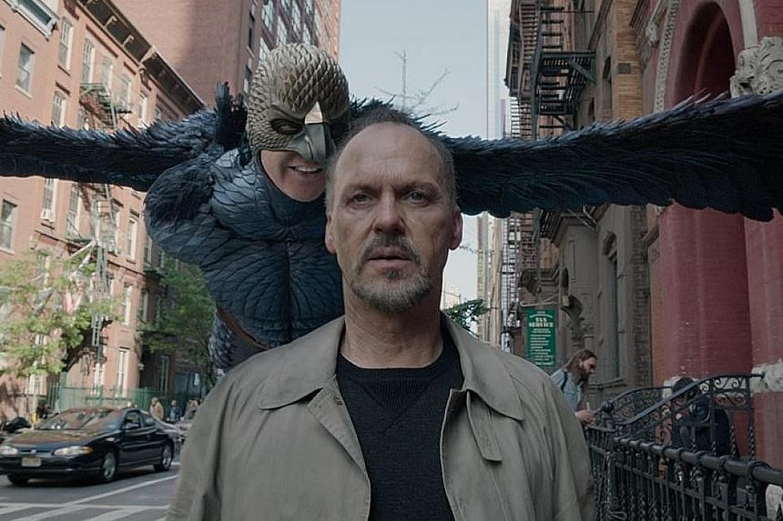 (Clockwise from far left) The Blair Witch Project; Birdman, starring Michael Keaton; and Buried, starring Ryan Reynolds.