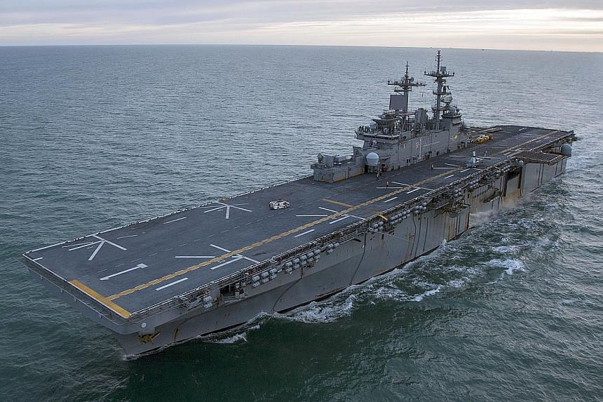 The United States consulate in Hong Kong confirmed China's refusal to allow amphibious assault ship USS Wasp to visit, but did not elaborate. Although the Chinese and US militaries have long been rivals, exchanges and port visits have been common ove