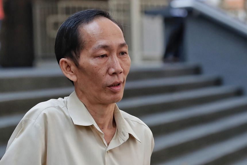 Chin Peng Sum was charged in court with 33 charges, including 13 counts of wrongful communication of information under the Official Secrets Act.