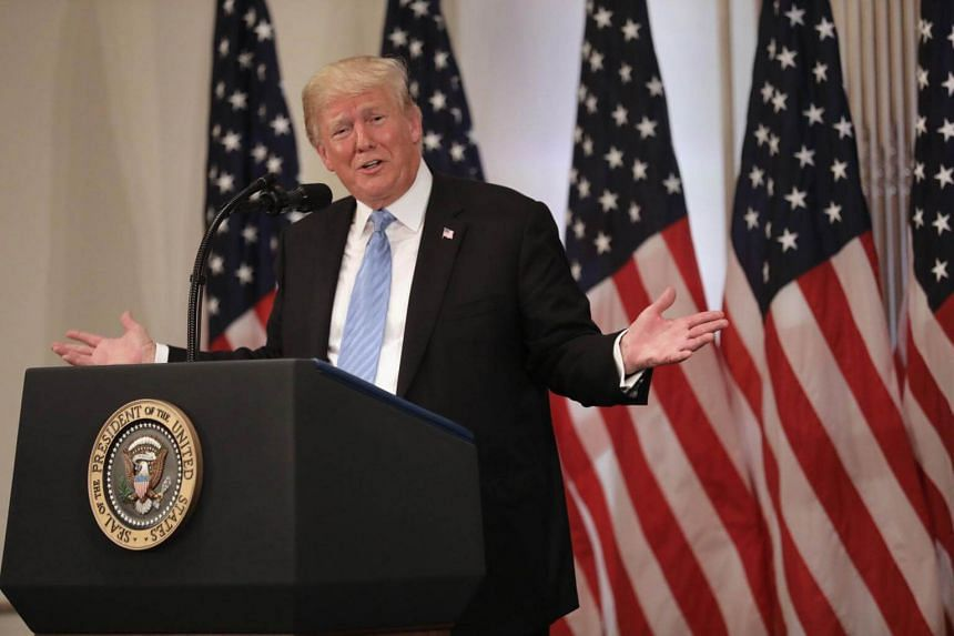US President Donald Trump made clear he didn't care whether he persuaded anyone.