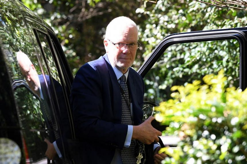 Former ABC chairman Justin Milne has been accused of intervening in news coverage to please the government.