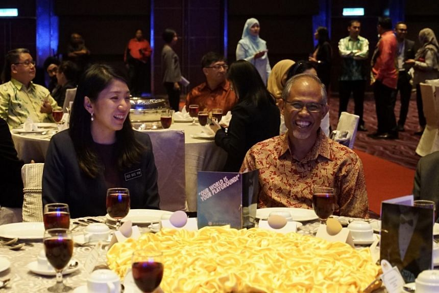 Mr Masagos Zulkifli, Minister for the Environment and Water Resources and Ms Yeo Bee Yin, Malaysia's Energy, Science, Technology, Environment and Climate Change Minister at the 31st Malaysia-Singapore Annual Exchange of Visits.