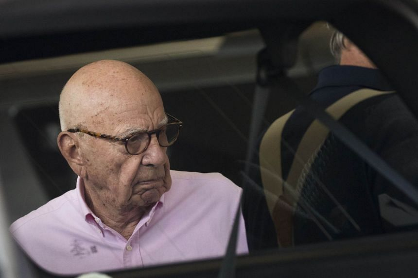 21st Century Fox, which Murdoch (above) controls, has agreed to sell its 39 per cent stake in Sky to Comcast.