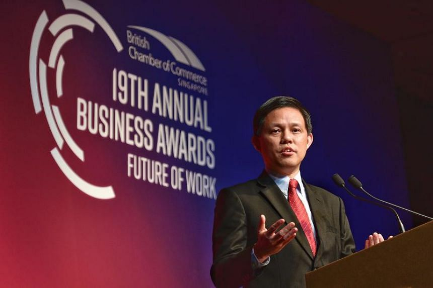 Trade and Industry Minister Chan Chun Sing said that despite being separated by a large physical distance, both Britain and Singapore had many opportunities to work together.