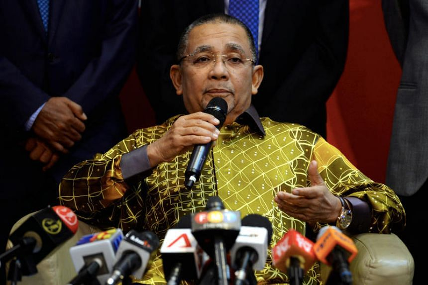 """Tan Sri Isa Samad said he decided to contest as he was a """"PD boy""""."""