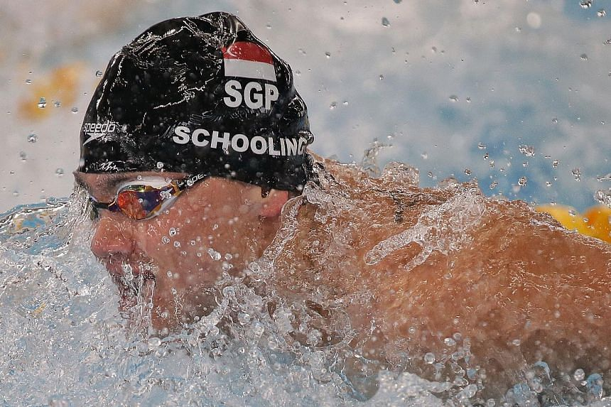 Joseph Schooling will be looking to continue his winning form from the Asiad when he competes in November's Fina World Cup in Singapore.