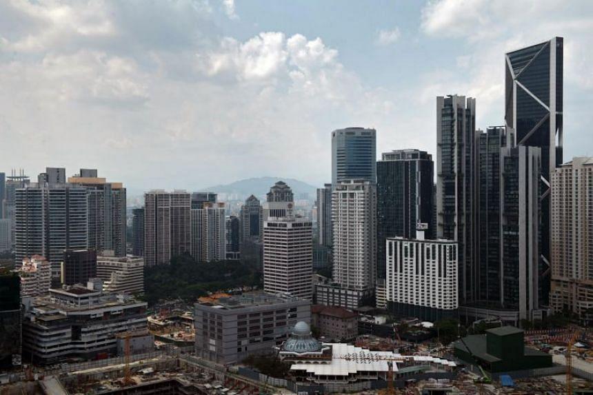 File photo showing the skyline of Kuala Lumpur, Malaysia, on May 8, 2018.