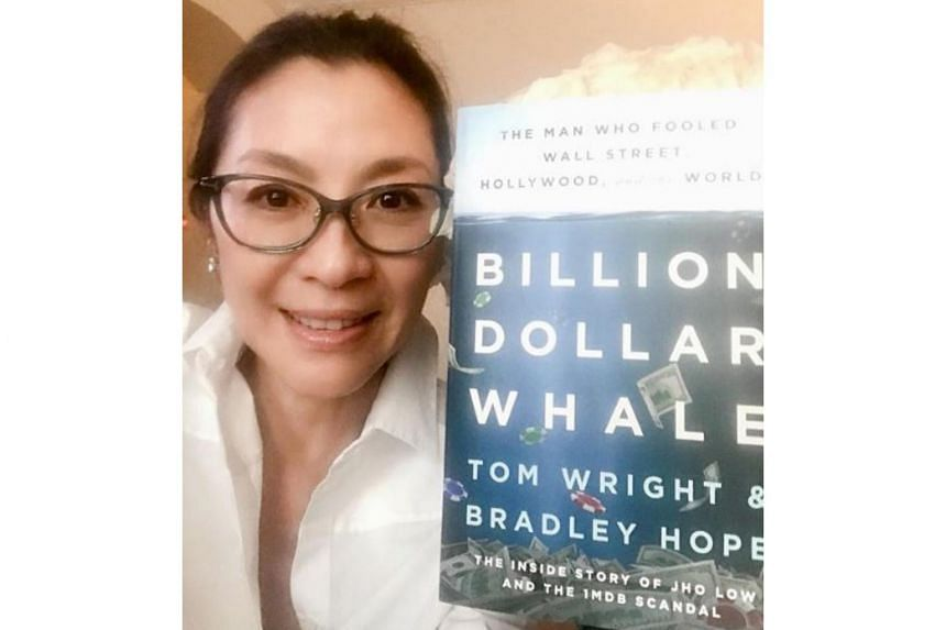 Just a week after she posted a selfie with the cover of the book Billion Dollar Whale: The Man Who Fooled Wall Street, Hollywood, And The World, it has been reported that Michelle Yeoh is set to produce the film based on the book.