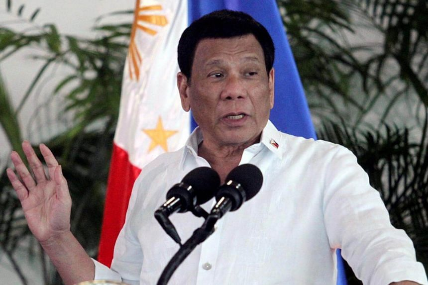 Philippines President Rodrigo Duterte challenged the country's military and police brass to remove him from office if they were not satisfied with the way he was running the country.