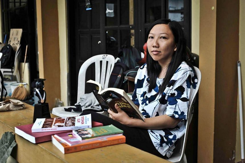 Indonesian Erwiana Sulistyaningsih is now a university graduate with a degree in economics, and is fighting for the rights of domestic helpers in Hong Kong and beyond.