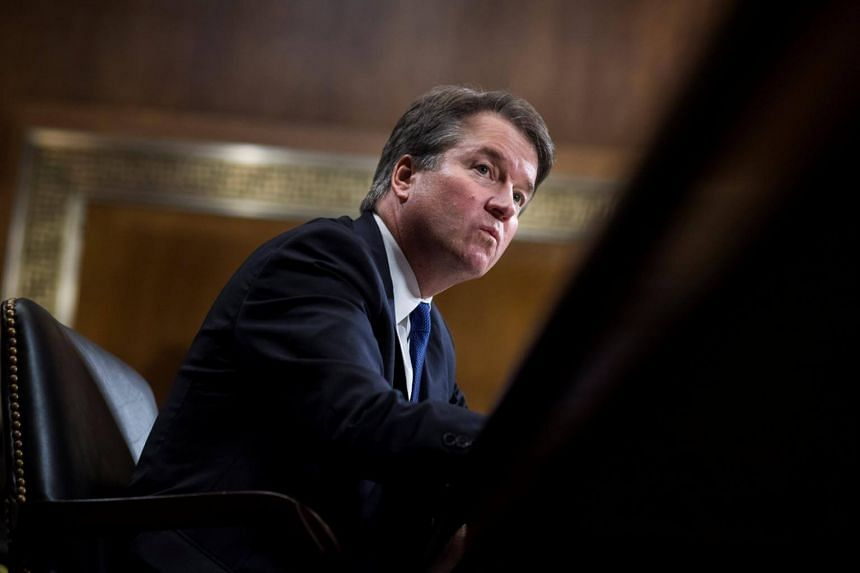 University professor Christine Blasey Ford accused Judge Brett Kavanaugh (above) of sexually assaulting her at a Maryland house party in 1982.