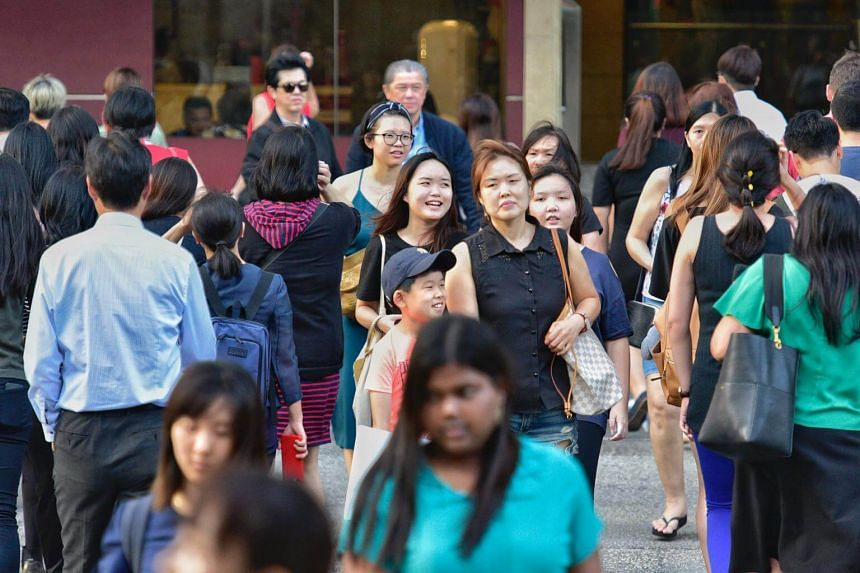 Of the 5.64 million, the number of Singapore citizens went up by 1 per cent to 3.47 million, according to the annual Population in Brief report.