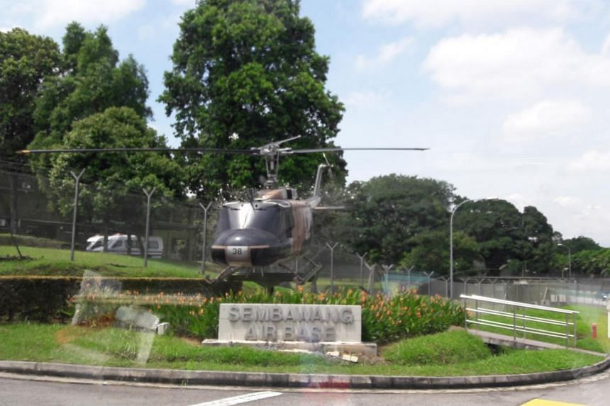 The full-time national serviceman was found hanged in his office at Sembawang Air Base at 8.22am on Sept 28, 2018.