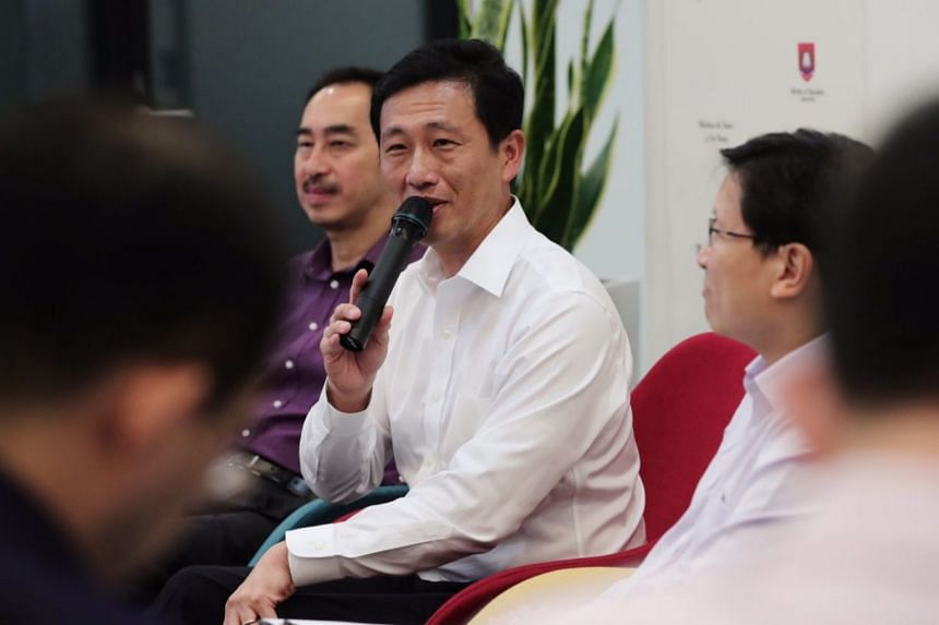 Education Minister Ong Ye Kung hopes children will understand that learning is not a competition, but a self-discipline they need to master for life.