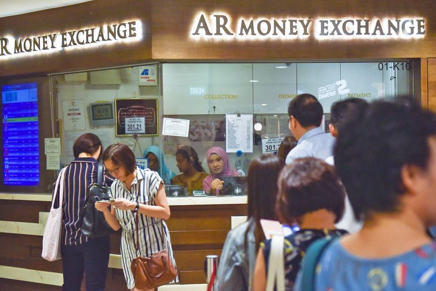 A check last night showed that one Singdollar could buy RM3.0336, compared with RM3.0266 at the start of the year.