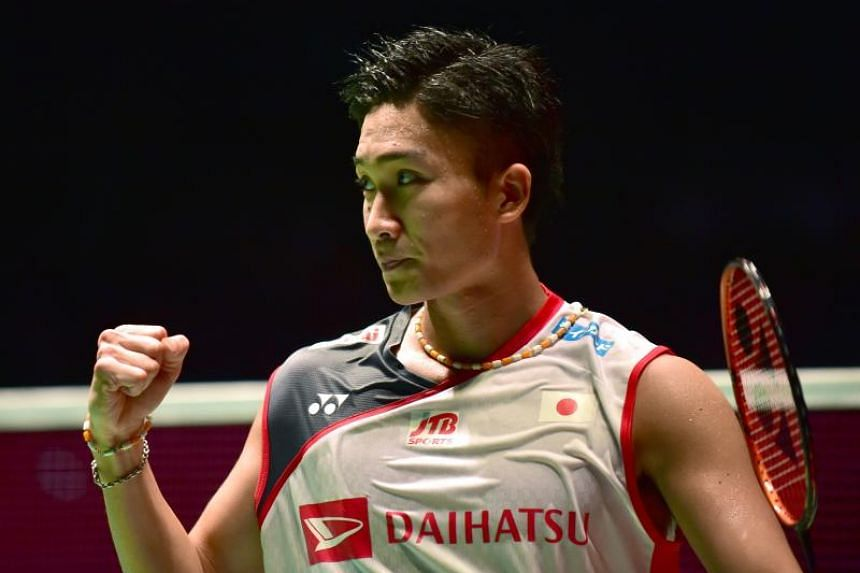 Kento Momota had been suspended in April 2016 for visiting an illegal casino, and missed the Olympics before returning to the tour at the Canadian Open in July 2017.