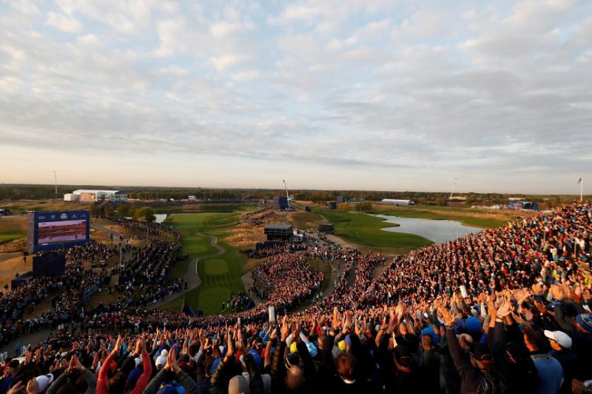 More than 270,000 spectators from 90 nations are expected to attend Ryder Cup activities.
