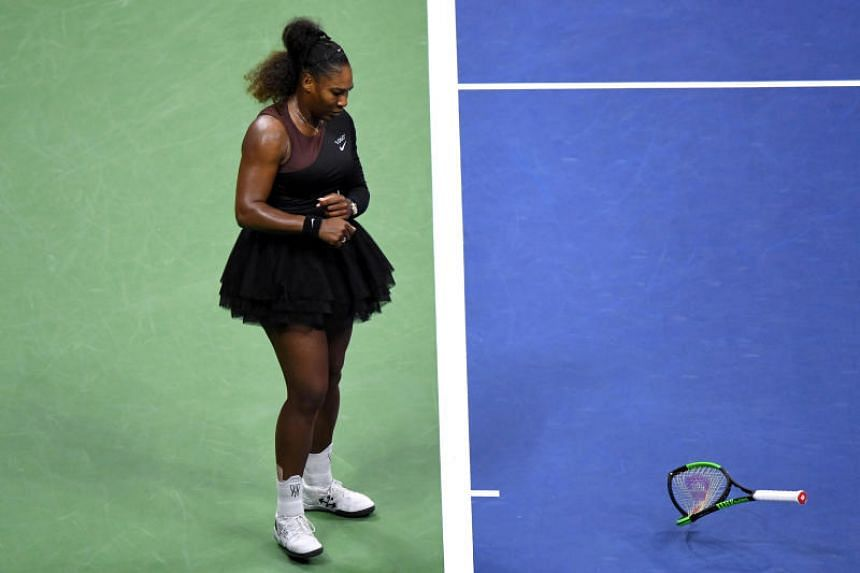 Tennis star Serena Williams had smashed her racquet and accused the umpire of sexism after her defeat to Japan's Naomi Osaka at the US Open final.