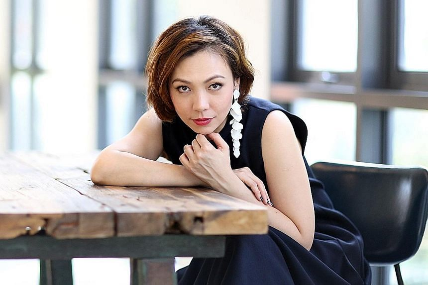 Singer Kit Chan's concert at the Esplanade will be a largely acoustic one.