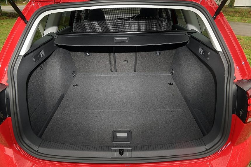 """The Volkswagen Golf Variant has a """"virtual cockpit"""" and a decent-sized luggage compartment."""