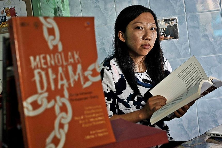 Economics graduate Erwiana Sulistyaningsih, who was imprisoned, starved and beaten while working in Hong Kong as a maid, is fighting for the rights of domestic helpers.