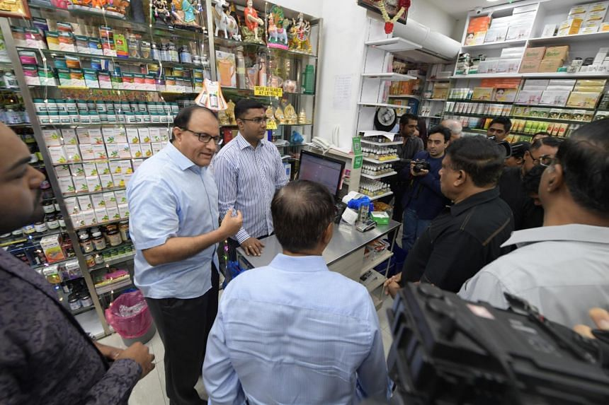Communications and Information Minister S. Iswaran officiated the opening of the Singapore Indian Chamber of Commerce and Industry SME centre in Little India on Sept 29, 2018.