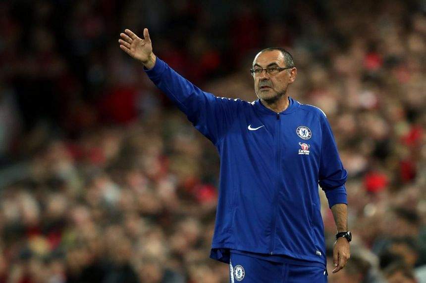 Maurizio Sarri's policy of making Chelsea the underdogs in a title race seems to be delivering the desired effect.