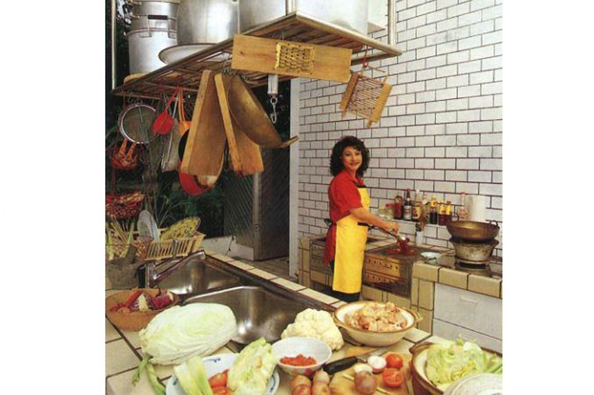 October/November 1987 (above): Chef Violet Oon's three kitchens were featured.
