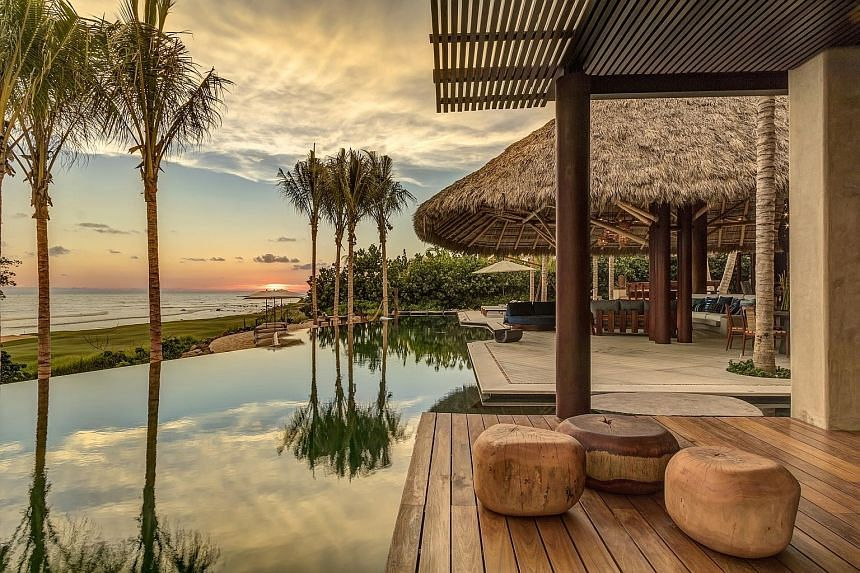 Onefinestay's vacation homes, such as this property (above) in Punta Mita, Mexico, cater to travellers who want luxury accommodation and personalised service.