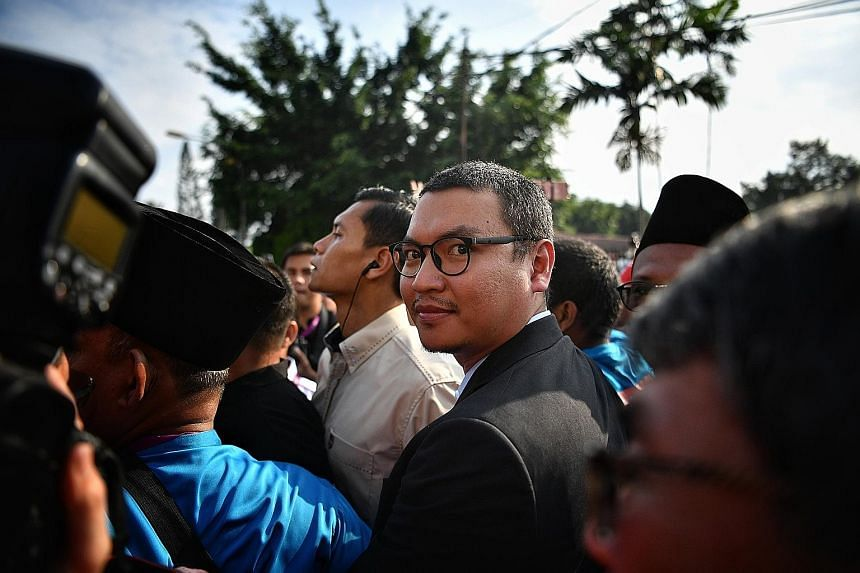 """Mr Mohd Saiful Bukhari Azlan, who once accused Mr Anwar of sodomy, says his participation in the polls is not about revenge and he will not mention """"old issues""""."""