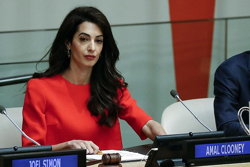 Mrs Amal Clooney said Ms Aung San Suu Kyi held the key to the two Reuters reporters' release.