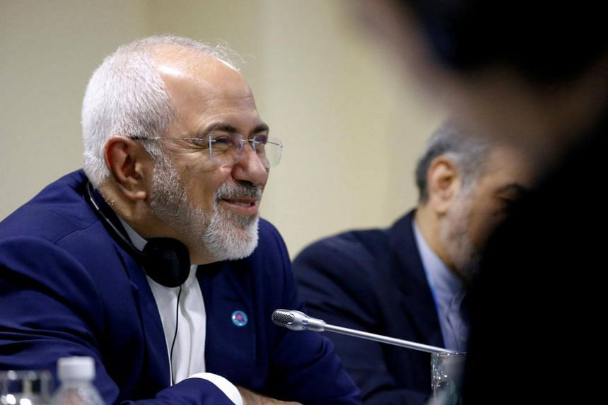 Iranian Foreign Minister Mohammad Javad Zarif at an Asean meeting in Singapore, on Aug 3, 2018.