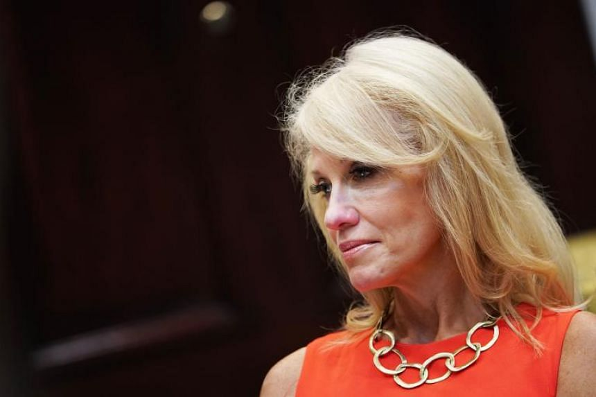Ms Kellyanne Conway made the disclosure to CNN's Jake Tapper on his State of the Union news show on Sept 30, 2018.