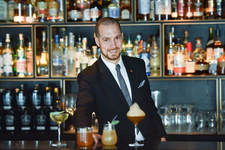 Skai beverage manager Rusty Cerven infuses a range of flavours in the bar's 16-drink menu.