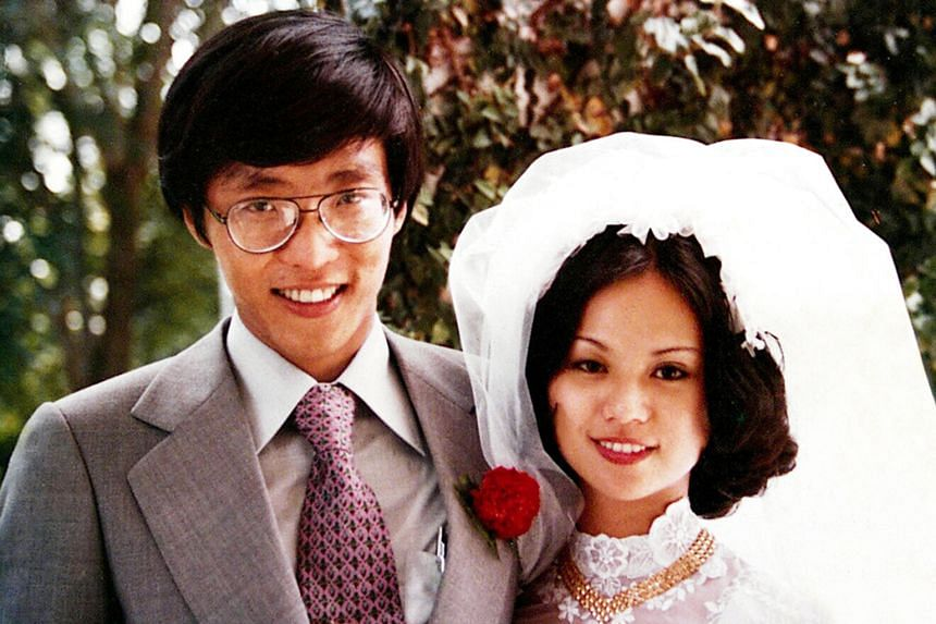 """It didn't take Mr Ho long to ask his wife out after their first introduction in 1975, and romance bloomed. He wrote in his book: """"Claire and I were married on July 7, 1977, but had our formal wedding dinner only in May 1978. Our wedding date is easy"""