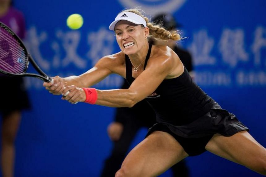 Angelique Kerber endured some painful lessons in 2017 when she started her season at the top of the world rankings but slumped to 21st at the end of it after failing to win a title.