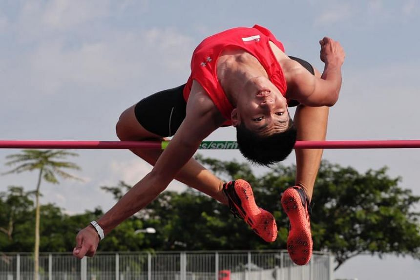Kampton Kam will be chasing another personal best at the Youth Olympic Games in Buenos Aires in October 2018.
