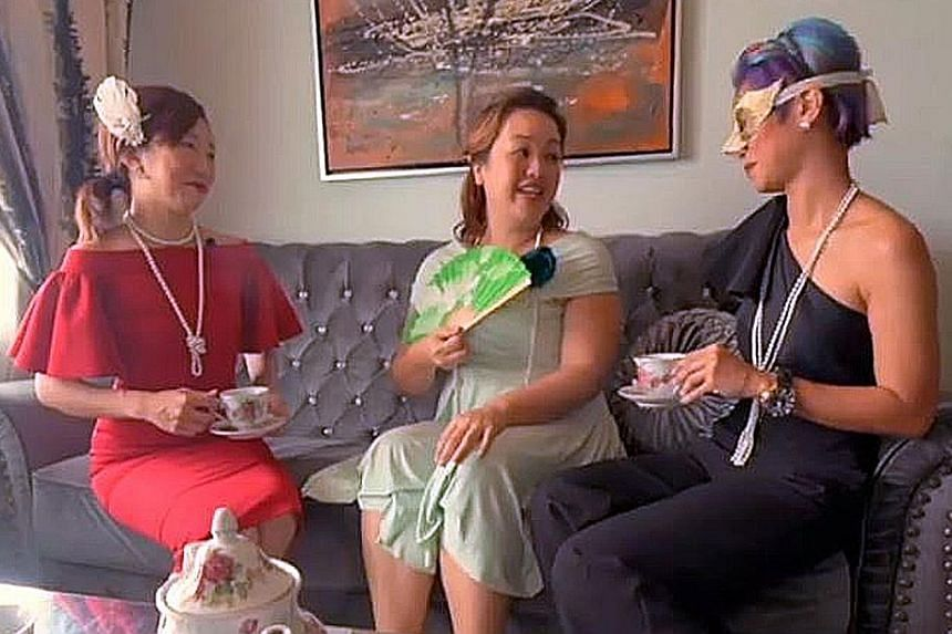 An Instagram preview of this video of women having tea in a four-room HDB flat helped property agents Diana Teow and Felicia Cai to sell the flat in just a week.