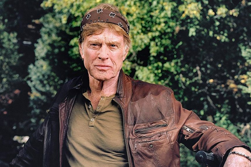 In his latest film, The Old Man & The Gun, Robert Redford plays Forrest Tucker, a career bank robber and escape artist.