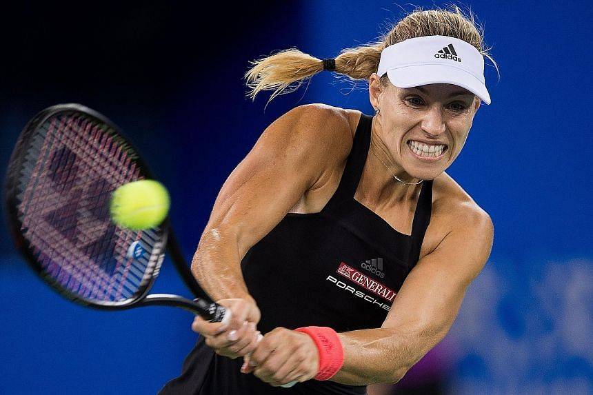 Armed with a faster serve and a new team that includes coach Wim Fissette, Angelique Kerber certainly looks like she's back to her best.